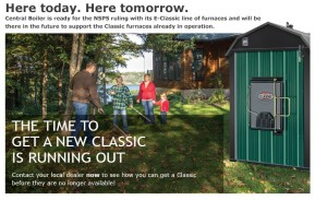 Outdoor Wood Boiler Ad